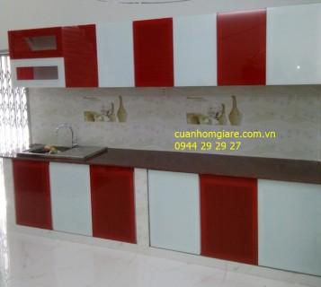 Nhận Làm Cửa Tủ Bếp Nhôm Kính Tại Thủ Đức Tphcm