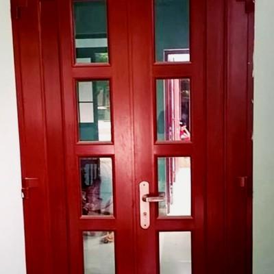 Mẫu cửa nhôm kính phòng ngủ đẹp TpHCM sản phẩm thiết kế CẢI TIẾN