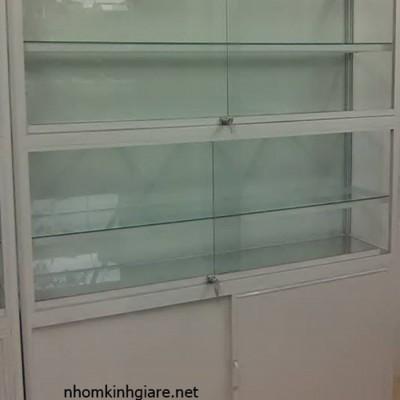 Tủ kính trưng bày TpHCM mẫu MỚI thiết kế kiểu dáng ĐẸP độc đáo
