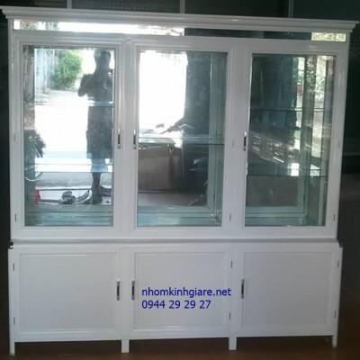 Mẫu tủ trưng bày mỹ phẩm đẹp TpHCM kiểu dáng sản phẩm TUYỆT VỜI