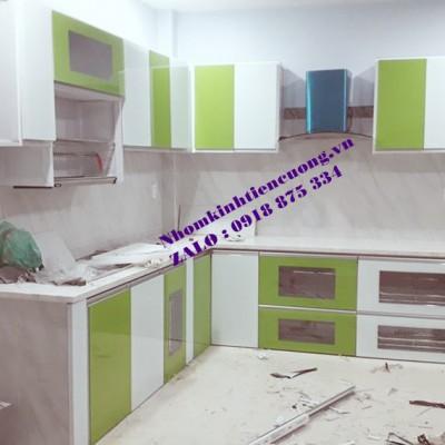 Những mẫu tủ bếp nhôm kính đẹp TpHCM kiểu dáng sản phẩm VƯỢT TRỘI