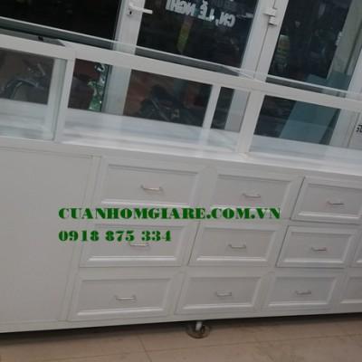 Kích thước hình ảnh tủ quầy thuốc tây ĐẸP thiết kế đạt chuẩn GPP