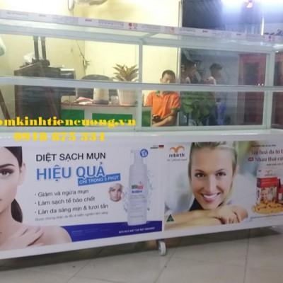 Mẫu hình ảnh tủ nhôm kính bán hàng đẹp TpHCM sản phẩm ẤN TƯỢNG