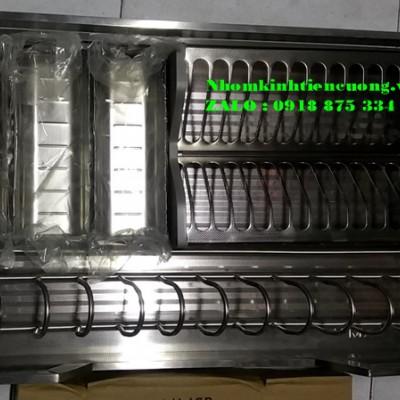 Tủ nhôm kính đựng chén bát đĩa ly TpHCM  mẫu thiết kế hiên đại ĐẸP