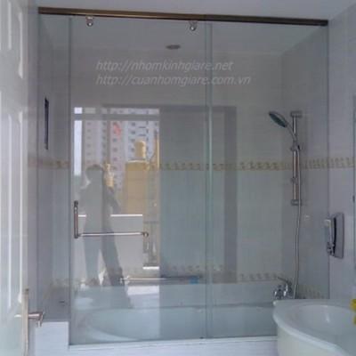 Hình ảnh phòng tắm kính cường lực TpHCM mẫu thiết kế MỚI kiểu dáng ĐẸP